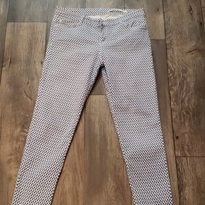 Zara Woman Medium Rise Slim Fit Pant